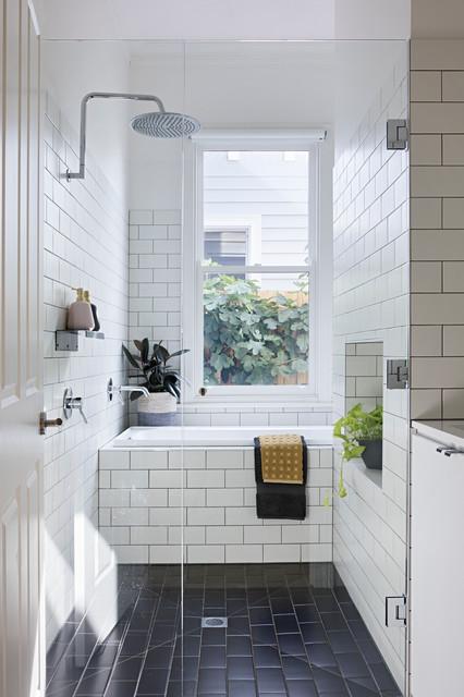 Joyful House contemporary-bathroom