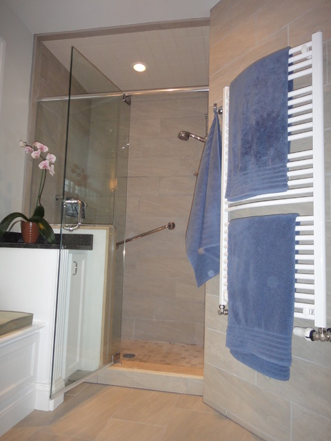 JRL Design, Inc. High Performance Bathroom Remodel, Ambler, PA traditional-bathroom