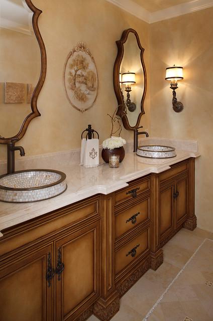 Julie Mifsud Interior Design traditional-bathroom