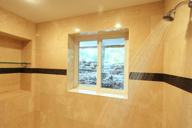 Julie's Basement Bathroom contemporary-bathroom