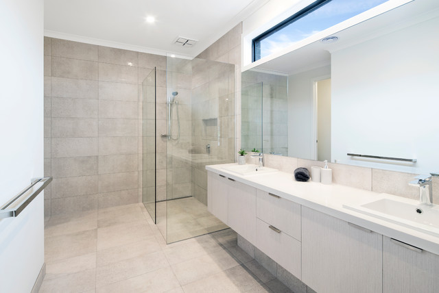 Junction contemporary bathroom melbourne by d r for Bathrooms r us melbourne