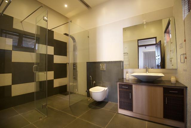 Idéer för ett modernt badrum