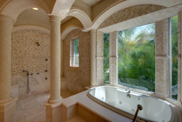 Jupiter Real Estate mediterranean-bathroom