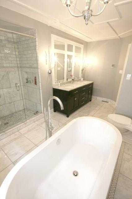 K Bathroom Reno traditional-bathroom