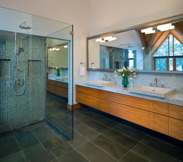 Kadenwood Residence contemporary-bathroom