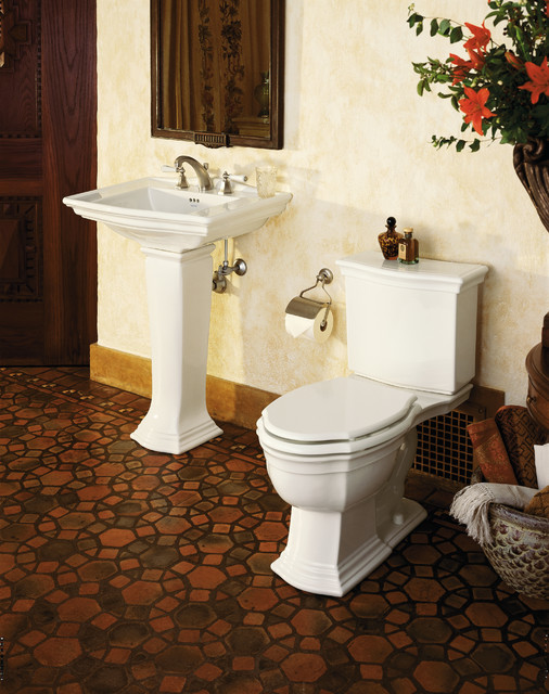 Kallista Hampstead Two-Piece Toilet - Mediterranean - Bathroom ...