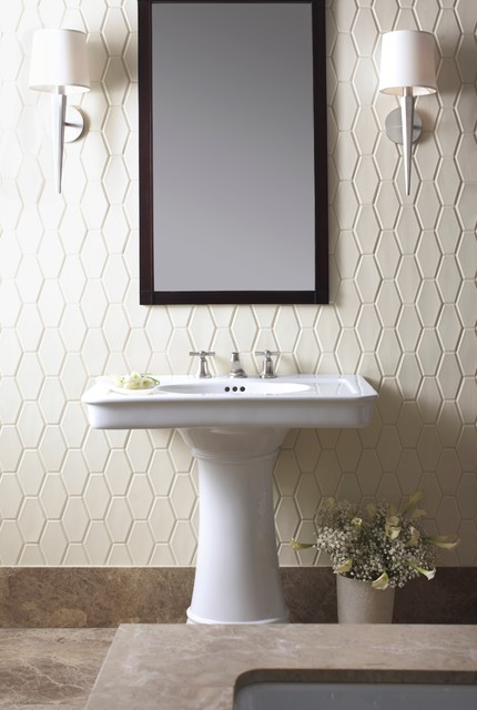 Genial KALLISTAu0027s Tuxedo Collection By Barbara Barry Traditional Bathroom
