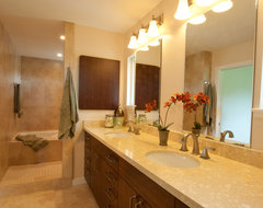 Kaneohe Gold Certified Home Bathroom contemporary-bathroom