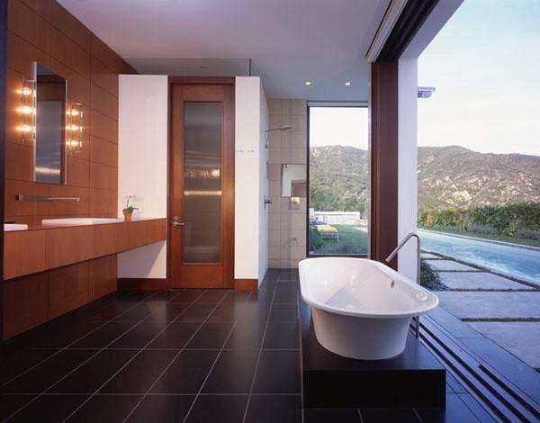 KANNER ARCHITECTS modern-bathroom