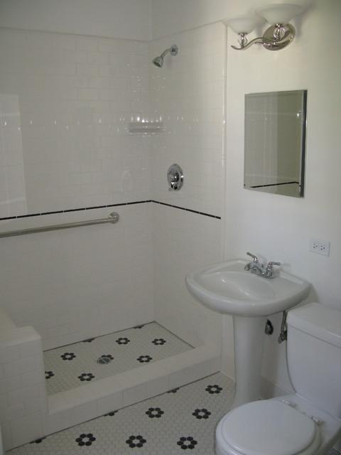 Kappa Delta Sorority Westwood, CA traditional-bathroom