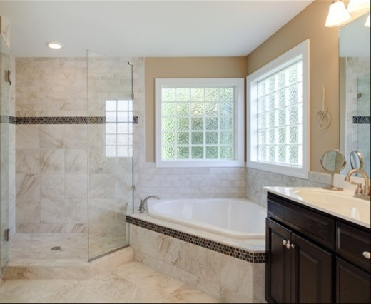 Kargo Porcelain Bathroom Remodel Modern Bathroom Raleigh - Bathroom remodel raleigh
