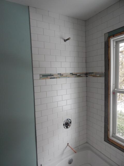 Karich family double bathroom remodel in beloit wi for Kustom kitchen designs