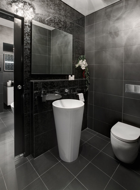 Karol bathroom watermans bay modern bathroom perth by retreat design Bathroom design perth uk