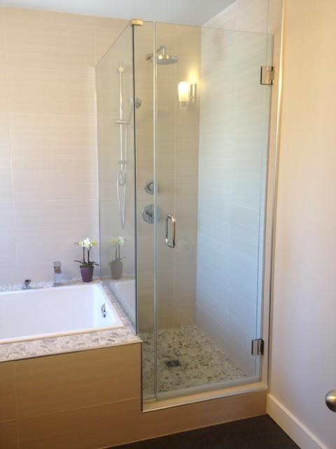 Karvonen parsons renovation contemporary bathroom for Bathroom designs edmonton