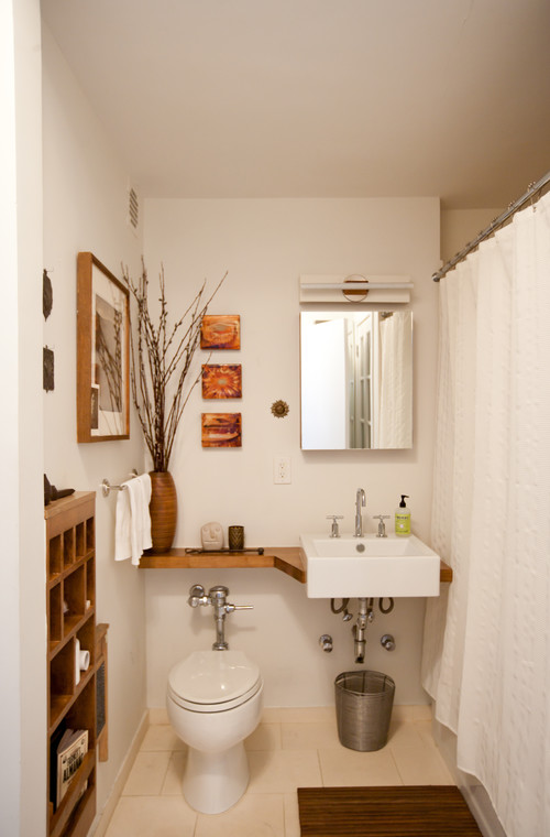 Small Bathrooms Tips design tips to make a small bathroom better.