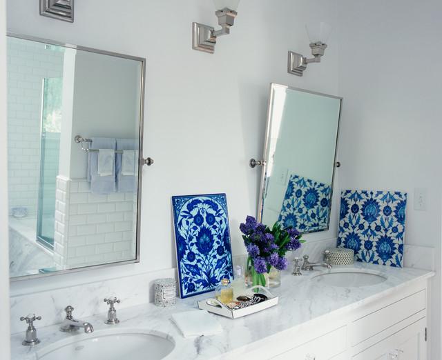 Katerina Tana Design traditional-bathroom