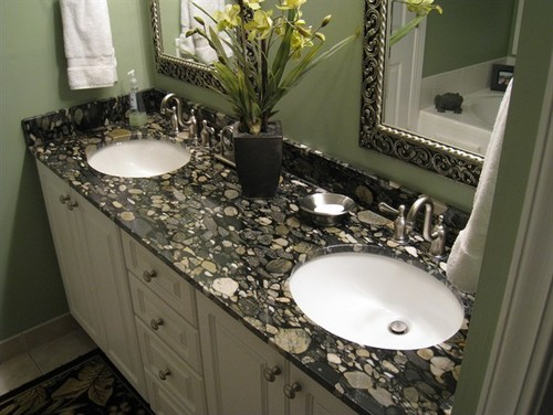 Stone Profile Black Mosaic Gold Granite