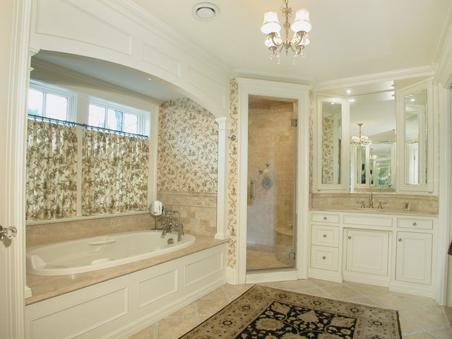 KBK Interior Design Portfolio traditional-bathroom