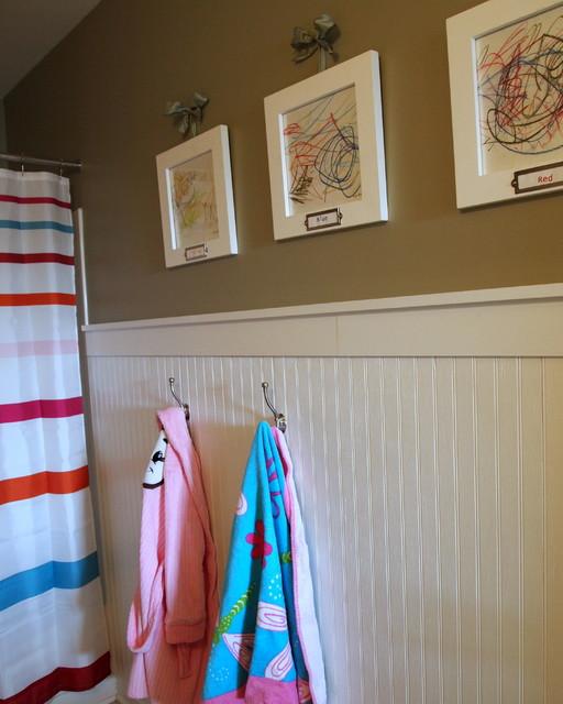 Keep Calm Amp Cute Kids Bathroom Traditional Bathroom