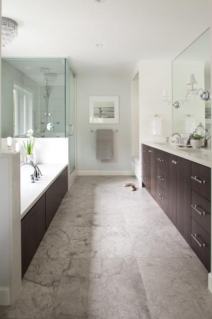 Keith Road - Traditional - Bathroom - vancouver - by Kelly Deck Design