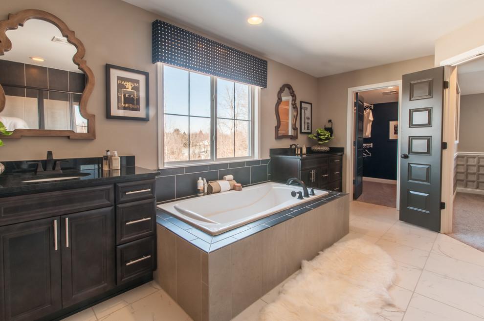 Keller Model Bathroom Cincinnati By Fischer Homes Houzz