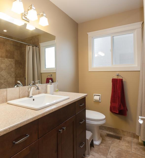 Simple Kelowna Bathroom Renovations  Rafter4K Contracting Kelowna BC
