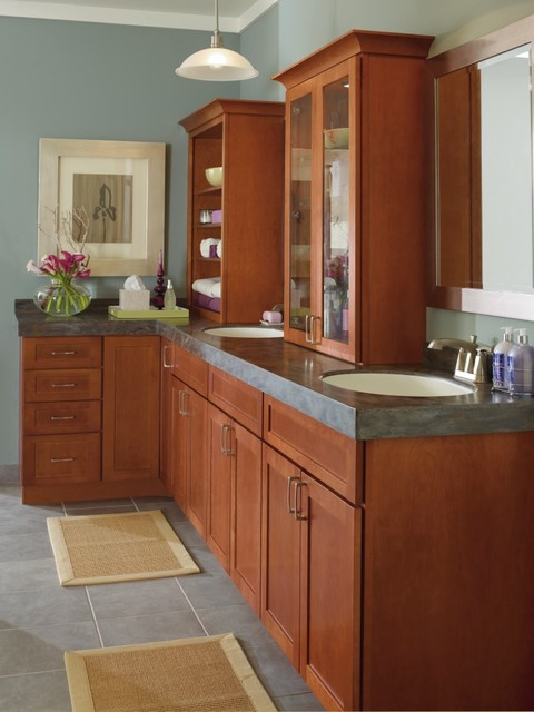 Kemper Vanity Cabinets Traditional Bathroom Other