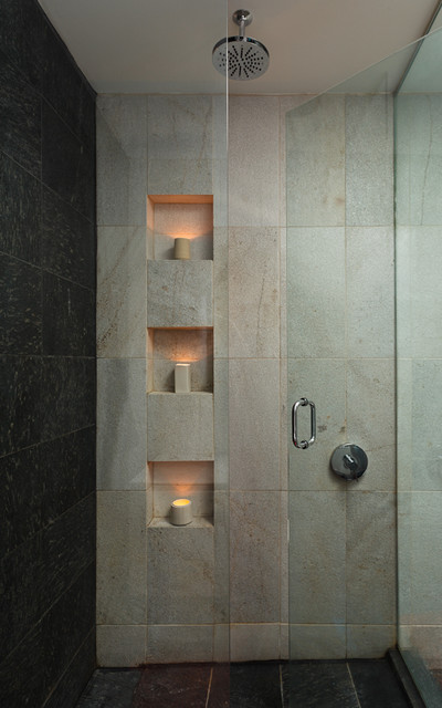 Kenmore Residence Masterbath - Contemporary - Bathroom - chicago - by KTARCH