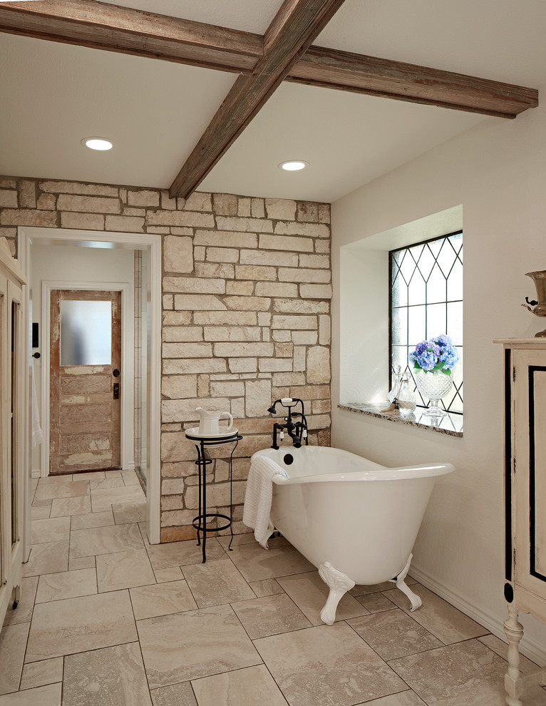 Kennedale Master Suite - Farmhouse - Bathroom - Dallas ...