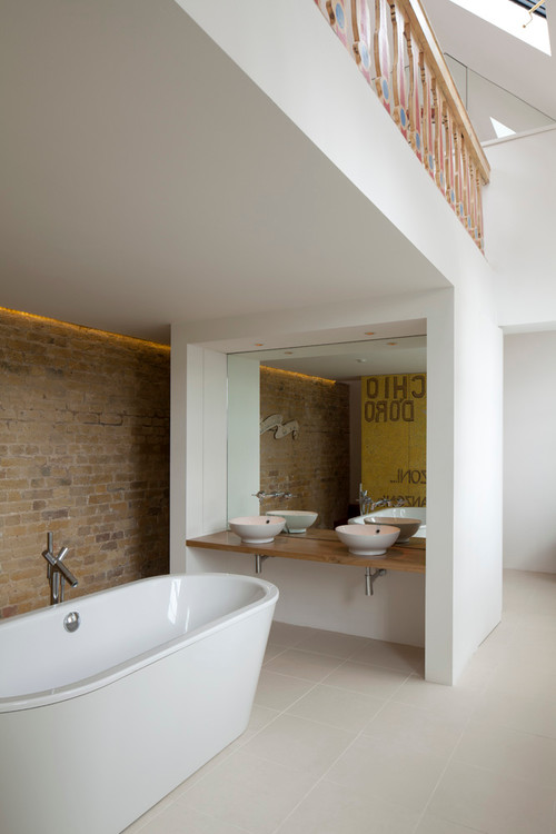. What do you think of open plan bathrooms