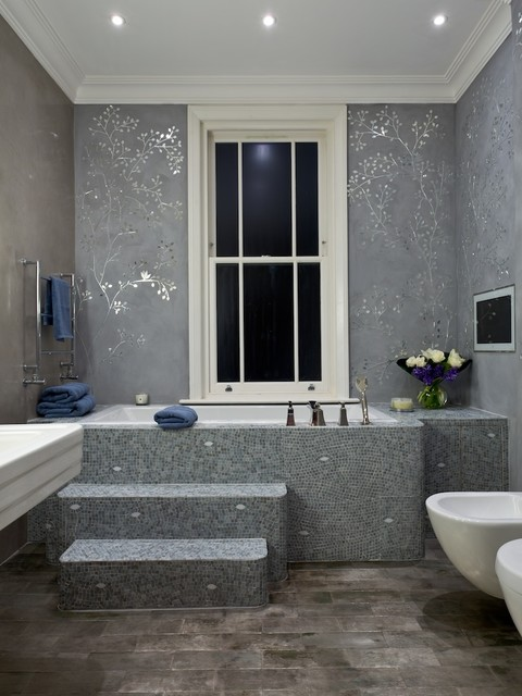 Kensington master bathroom contemporary bathroom Bathroom design company london