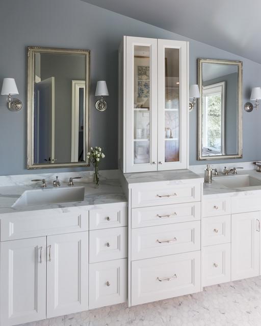 Kentfield Italian Casual - Traditional - Bathroom - san francisco - by Tinsley Hutson-Wiley ...