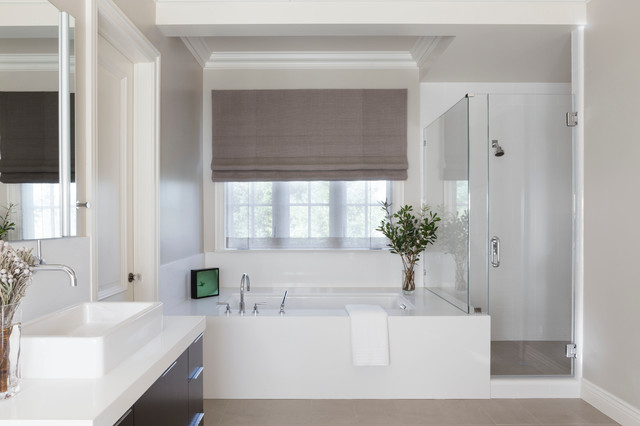 Kentfield - Transitional - Bathroom - san francisco - by Jill Phillips Design