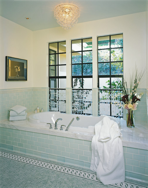 Kentfield Residence - Tub Deck - Contemporary - Bathroom - San ...