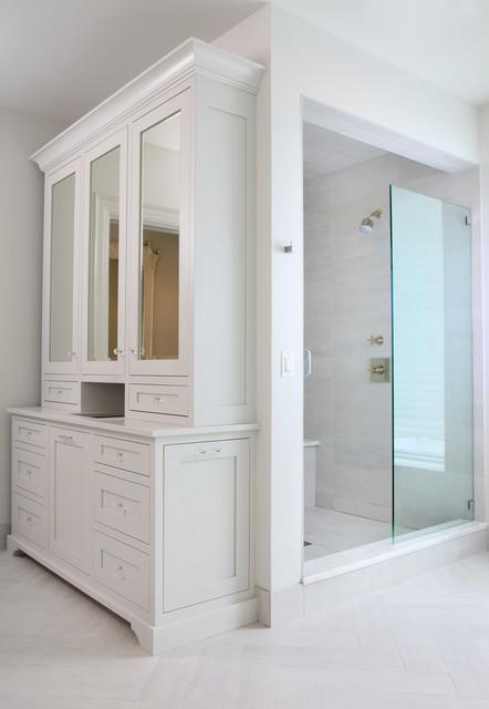Kenwood 10,000 square foot renovation traditional-bathroom