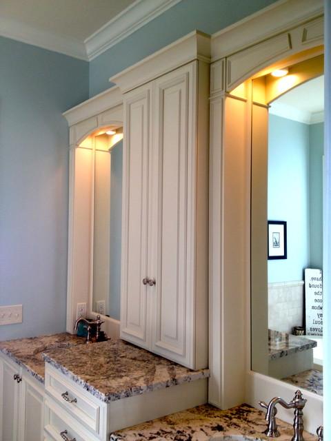 Keowee Shores Custom Home eclectic-bathroom
