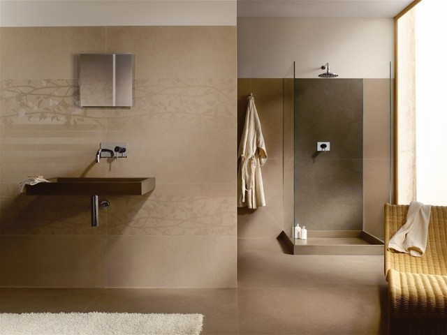 Kerlite Ultra Thin Porcelain Tile Modern Bathroom
