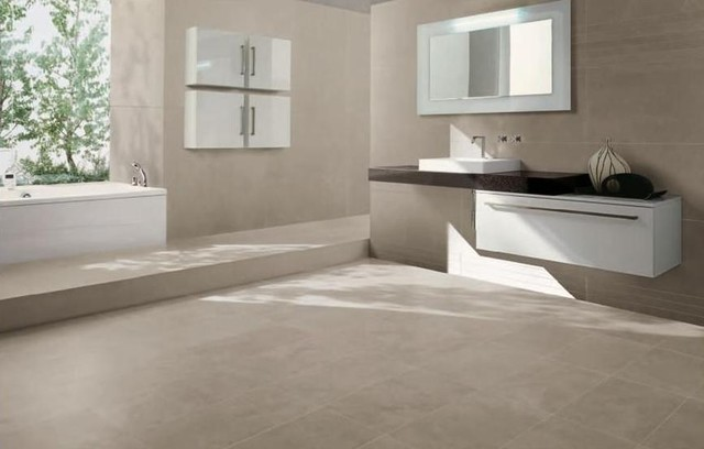 Kerlite Ultra Thin Tile - Contemporary - Bathroom - Dallas - by ...