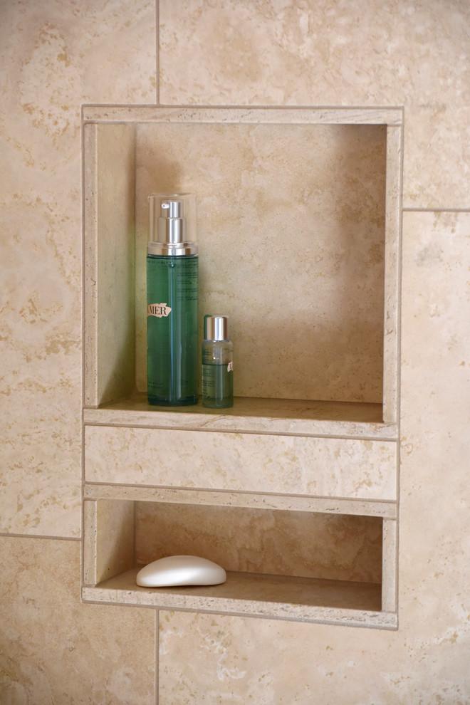 Kettering Universal Design Master Bathroom - Modern ...