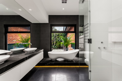 Bathroom trends for 2017 the plumbette for Small bathroom trends 2017
