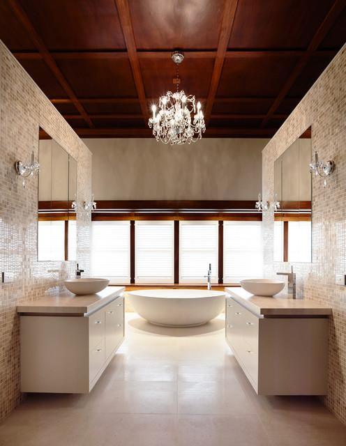 Kew Home Renovation contemporary-bathroom