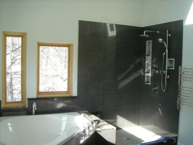 KHM - Master Bath modern-bathroom