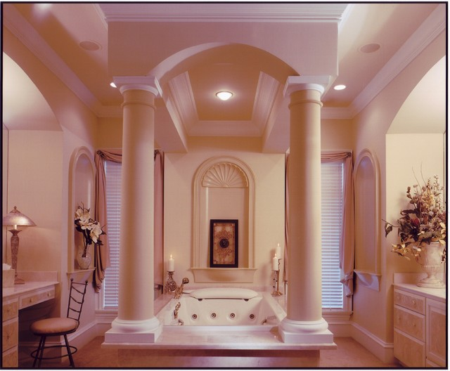 Kiawah Island low country equisite traditional-bathroom