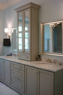 Kiawah island summer home traditional bathroom for Bathroom decor regina