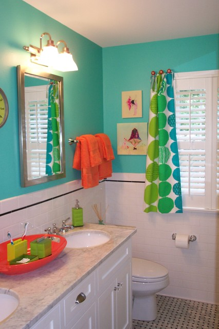 Kid 39 s bathroom for Bathroom ideas for kids
