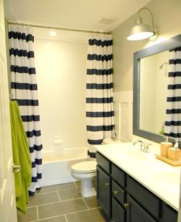 mesmerizing nautical bathroom makeover | Kid's Nautical Bathroom Makeover