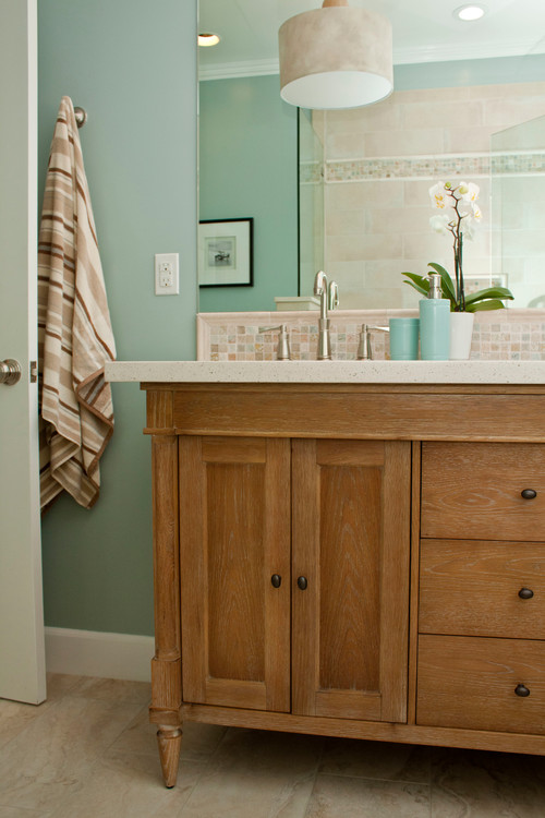 Is This Vanity Fairmont Rustic Chic? Where Can I Buy The Tile? Love It