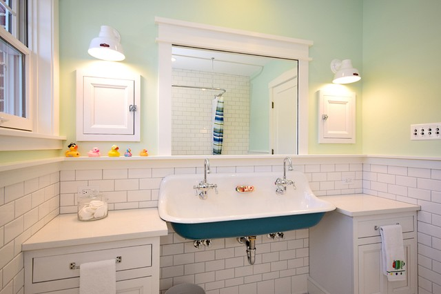 houzz kids bathroom bath brockway sink traditional bathroom 13181