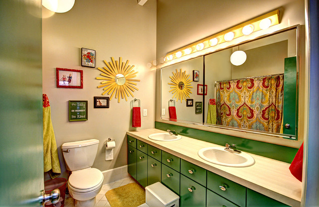 modern bathroom by Mindi Freng Designs