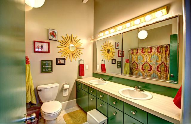 modern bathroom by Mindi Freng Designs